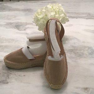 Shoes - 🔥🔥FLASH SALE!⭐️💕 Tan Vegan Suede Espadrilles!
